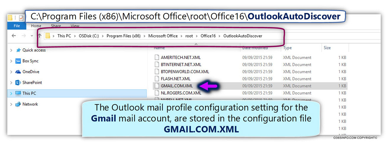 GMAIL.COM.XML - Gmail Autodiscover settings – Outlook -01