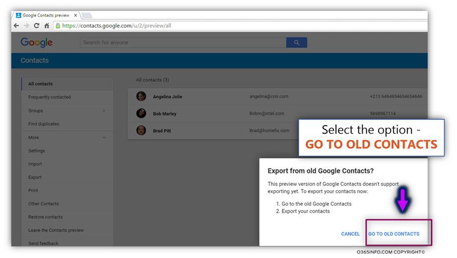 Export google contacts -02