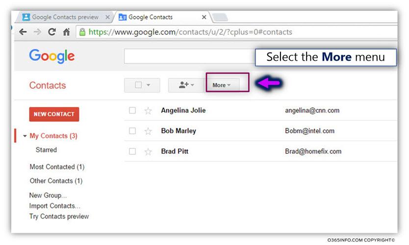 Export google contacts -03