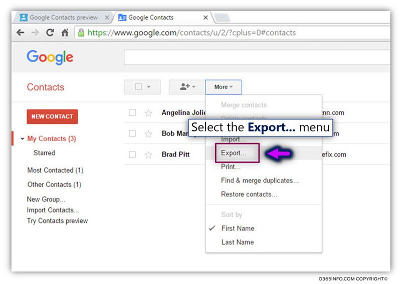 Export google contacts -04