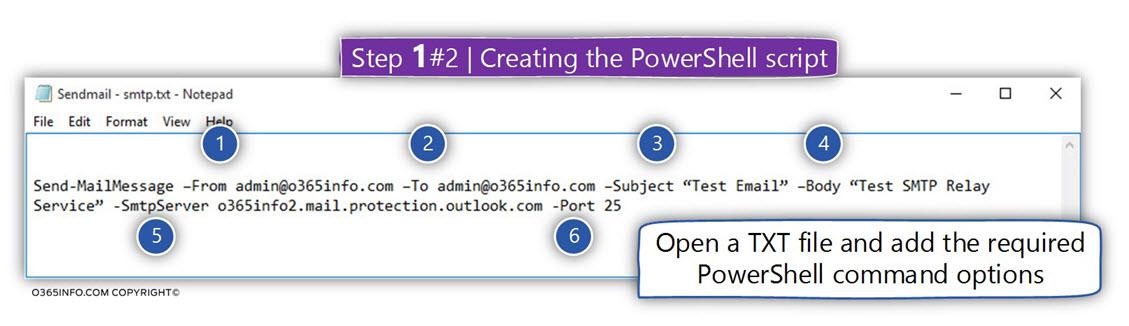Task 2-3 - Create a Send mail PowerShell script -01