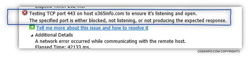 Step 2 of 9 - Testing TCP port 443 on host o365info.com -02