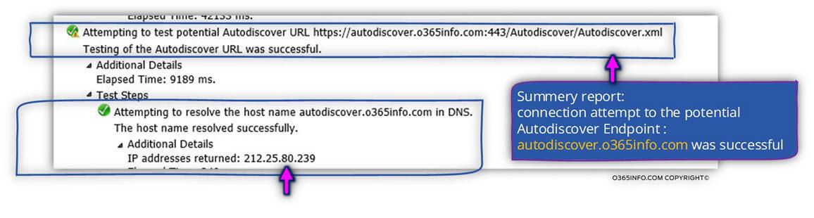 Step 3 of 9 - resolve the host name autodiscover.o365info.com in DNS -02