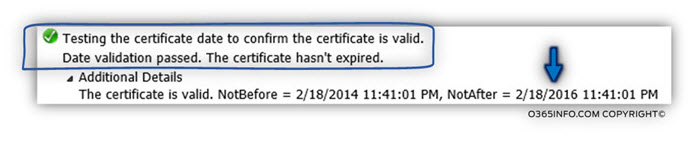 Step 10 of 20 - Testing the autodiscover-s.outlook.com SSL certificate to make sure it's valid-04