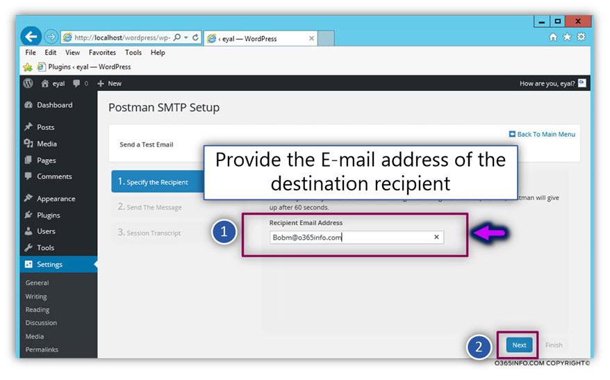 Send E-mail using other recipient credentials -05