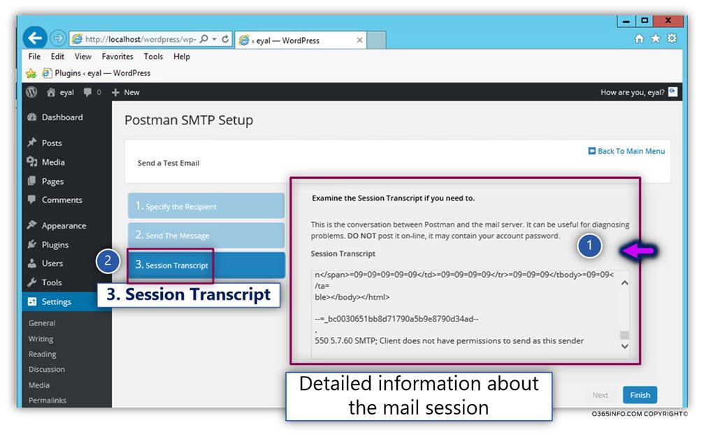 Send E-mail using other recipient credentials -07