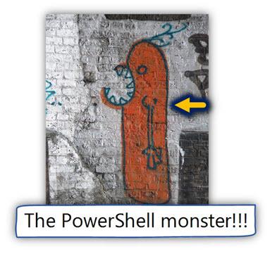 The PowerShell monster
