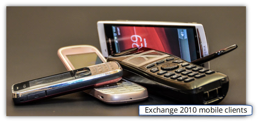 Exchange 2010 mobile clients