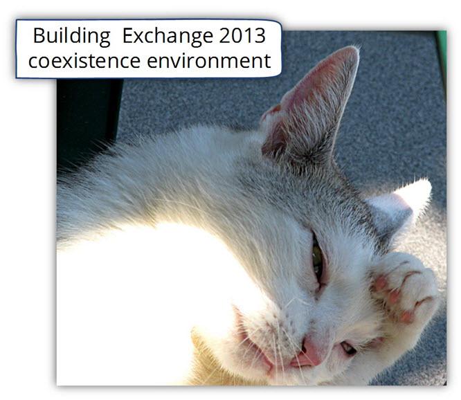 Building Exchange 2013 coexistence environment