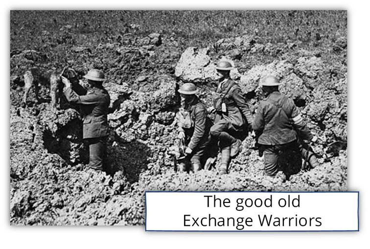 The good old Exchange Warriors