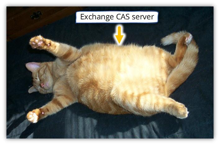 Exchange CAS server