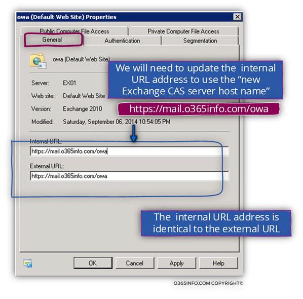 Exchange OWA internal and external URL address 02