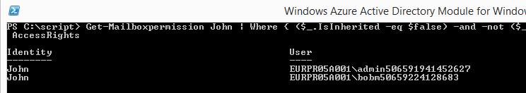 Default display of mailbox permissions-02
