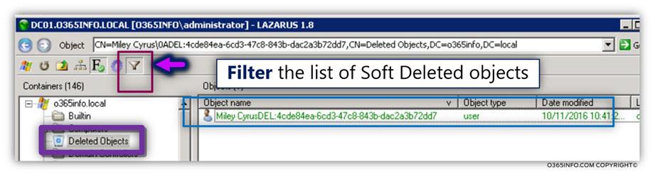 Restoring Active Directory user account using LEX – the LDAP explorer -02