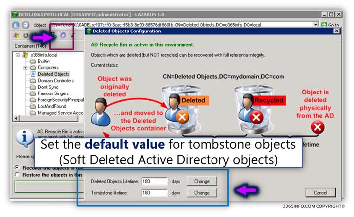 Restoring Active Directory user account using LEX – the LDAP explorer -05
