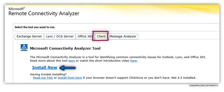 Microsoft Connectivity Analyzer , MCA | Autodiscover troubleshooting