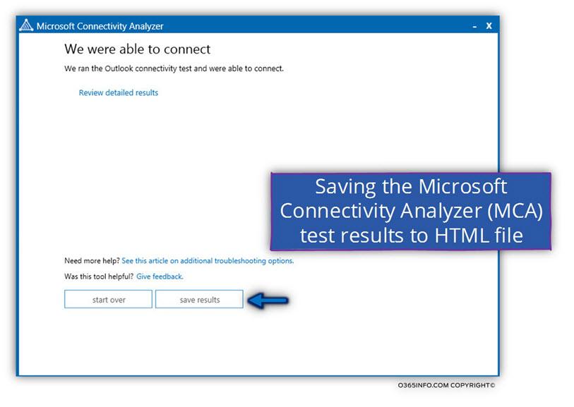 MCA -Microsoft Connectivity Analyzer-09