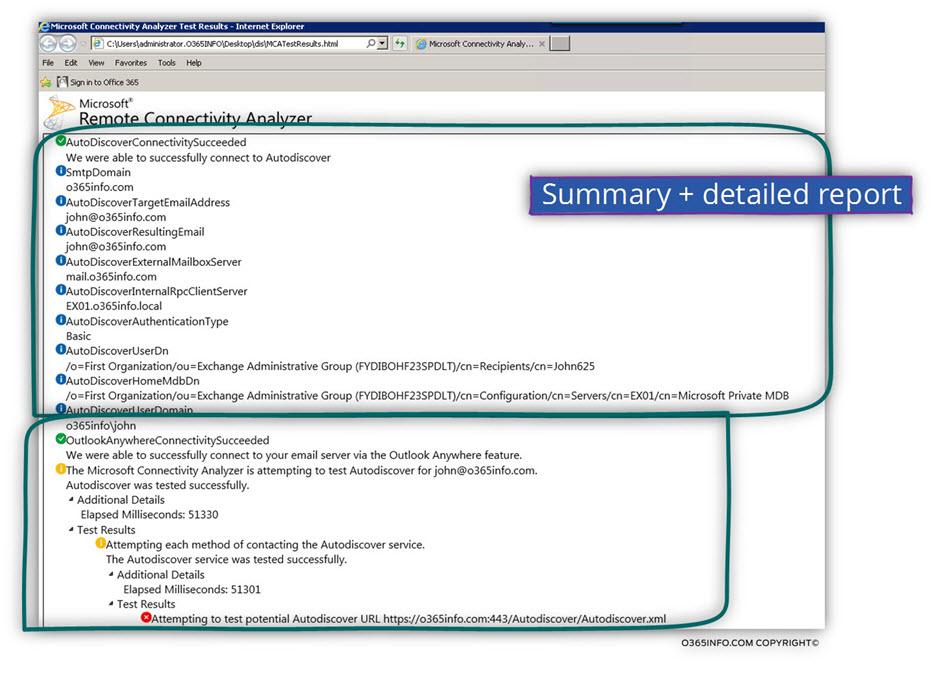 MCA -Microsoft Connectivity Analyzer-10