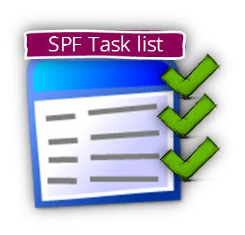 SPF Task list