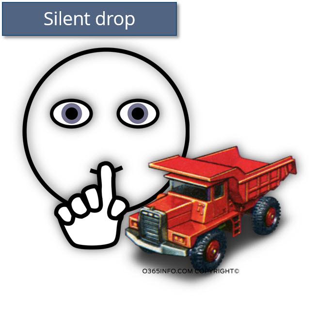 Silent drop