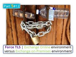 Force TLS | Exchange Online environment versus Exchange on-Premises environment | Part 5#12