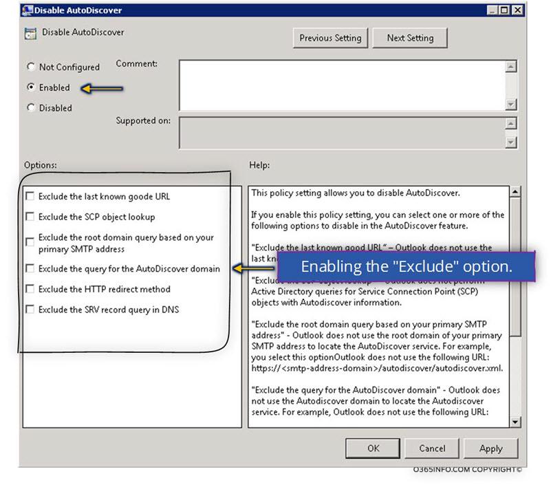 Outlook Auto... Unexpected Autodiscover Behaviour