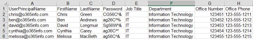 temp password