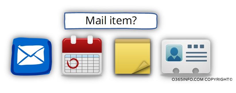 Mail item