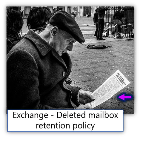 Exchange - Deleted mailbox retention policy