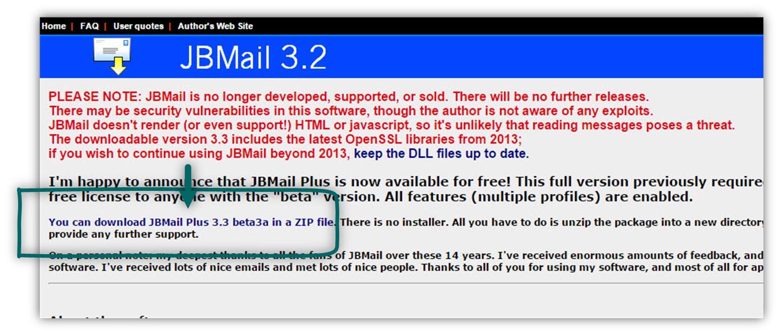 downlaod JBMail