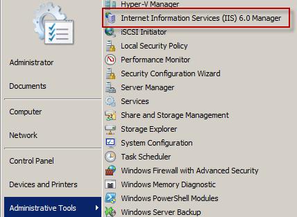 Installing IIS SMTP windows 2008 server -IIS 6 Icon -04