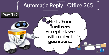 Setting up an Automatic Reply in Office 365 using Public Folder