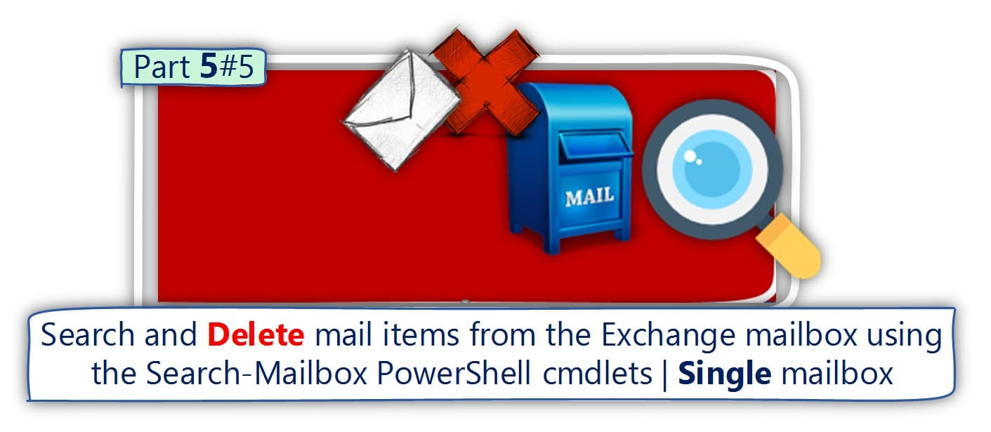 Delete mail items from Single Exchange mailbox using